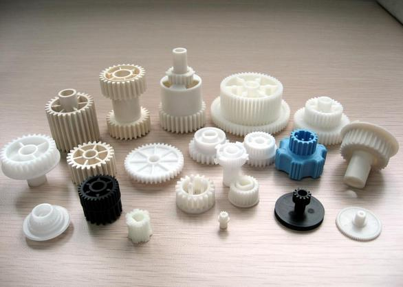 Custom Color Injected Precision Plastic Gears Machined Parts High Precision 0