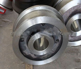 ประเทศจีน Large Helical Ring Gear Forging Steel wheel Parts With High Precision OEM Alloy Steel 4340 โรงงาน