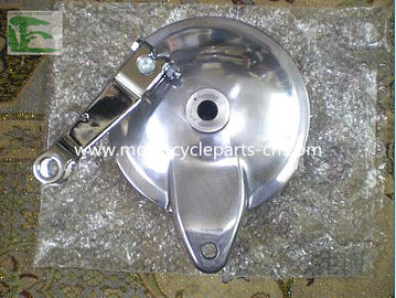 ประเทศจีน Suzuki Motorcycle GN125 Rear Brake GN125 Back hub cover Aluminum โรงงาน